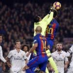 Keylor Navas and Real Madrid tie 1-1 with rival Barcelona in dramatic Clásico
