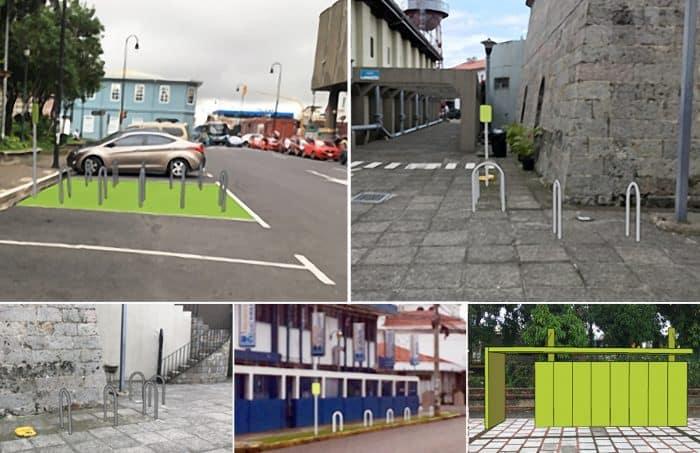 Bike parking facilities in San José