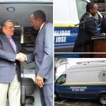 U.S. Embassy in San José donates police van