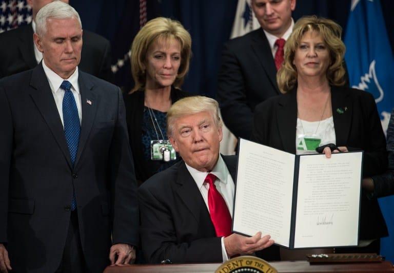 Donald Trump CAFTA