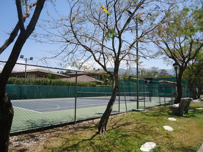 If you're a tennis enthusiast, be on the lookout for some courts.