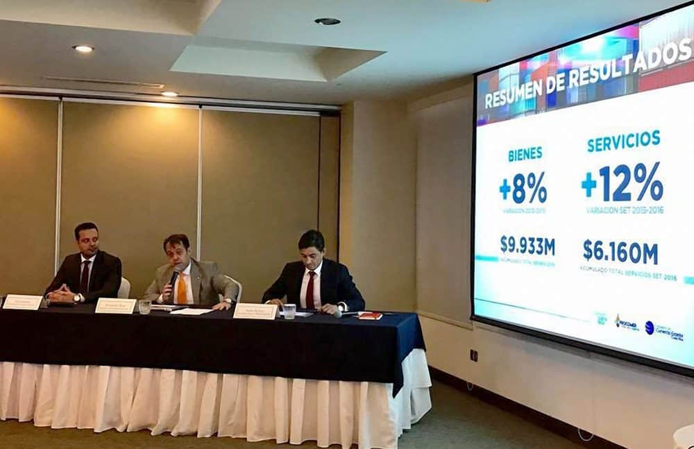 Costa Rica's exports report 2016. Jan. 23, 2017.