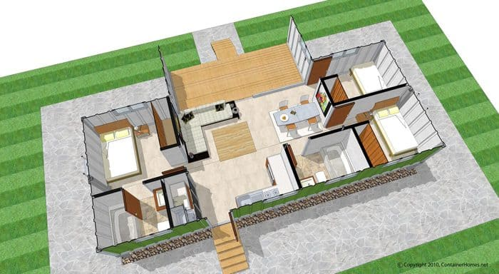 Is a 12 000 shipping container home your key to owning a - 40ft shipping container home ...