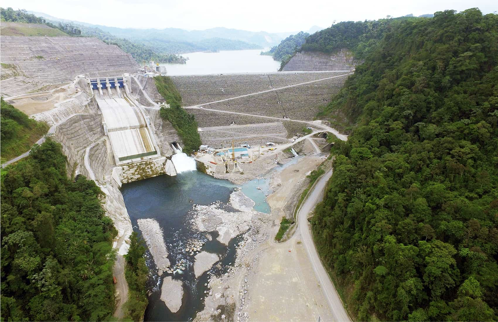 Reventazón hydroelectric plant
