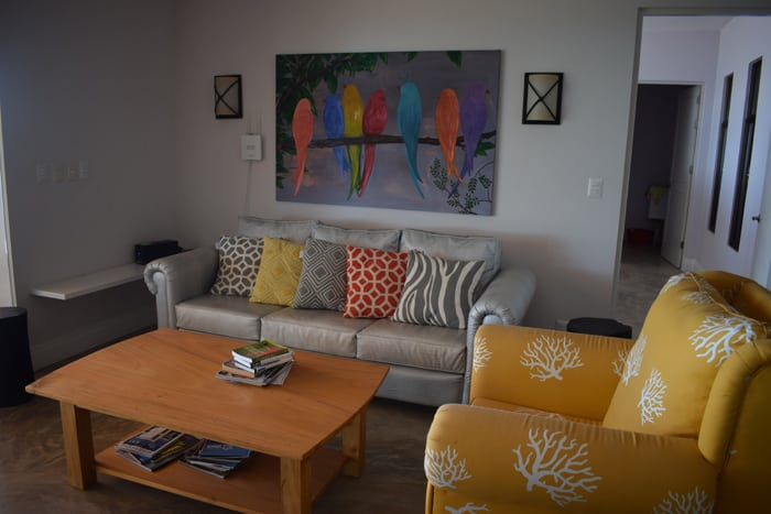 Living room at Shangri-La.