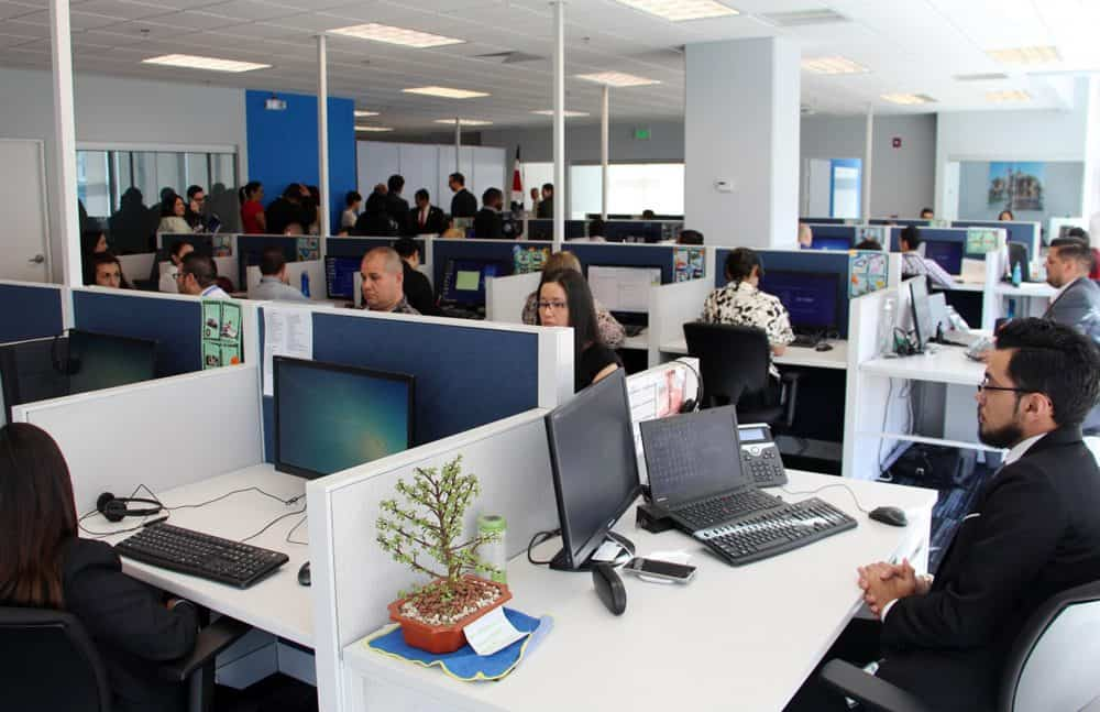 Shared-services centers, call centers in Costa Rica