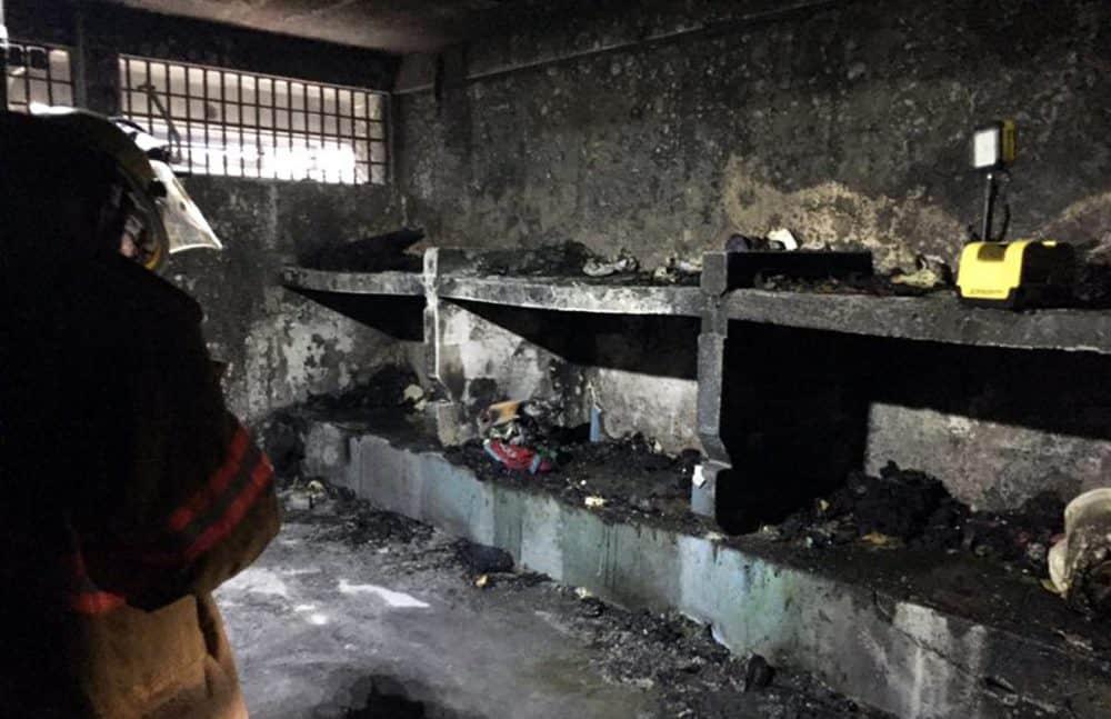 Fire at San Sebastián Prison. March 30, 2017.