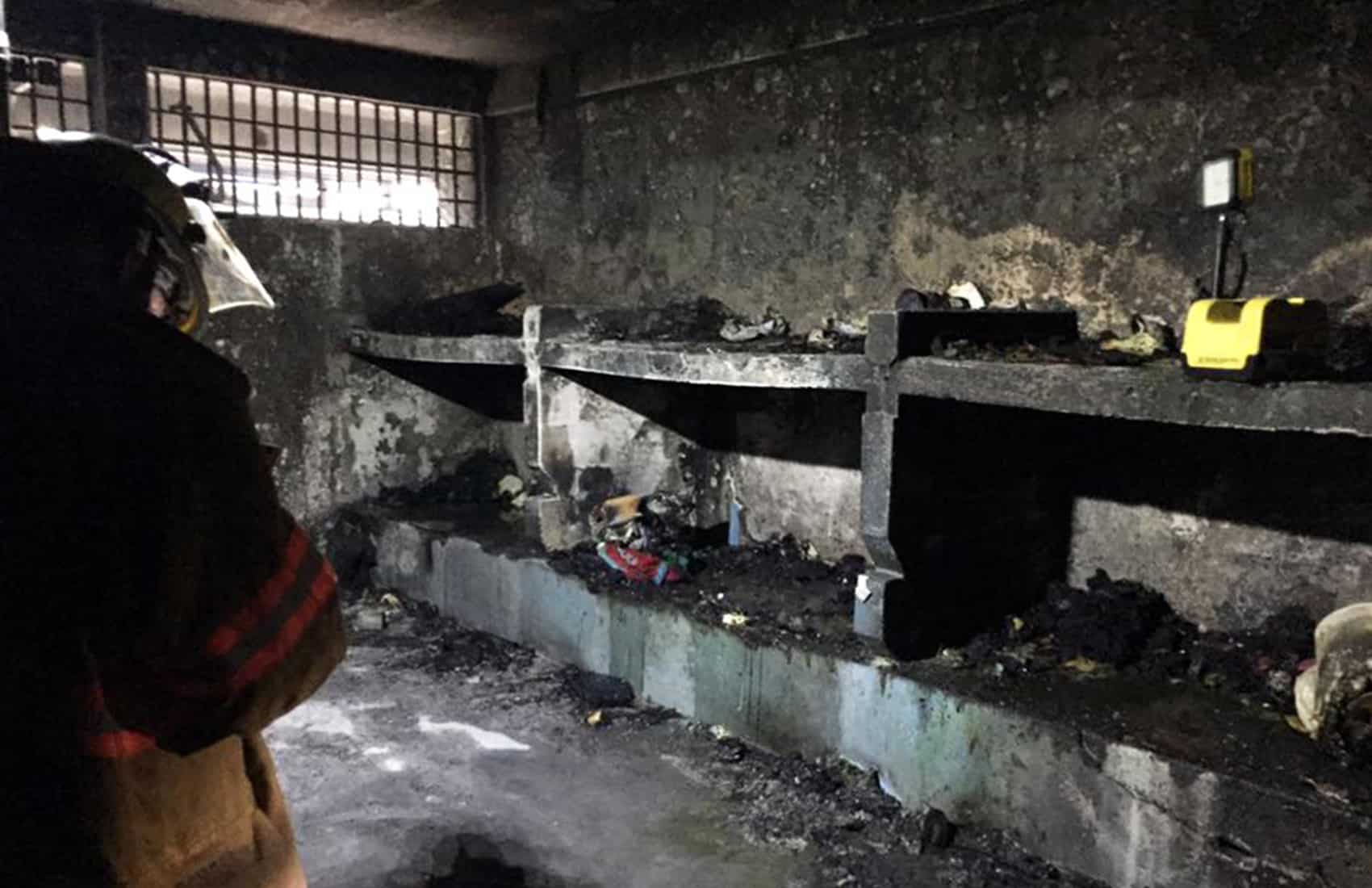 Fire at San Sebastián Prison. March 30, 2017.