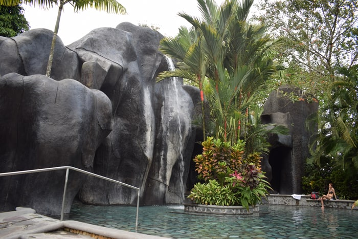Baldi: Please do not climb the waterfall.
