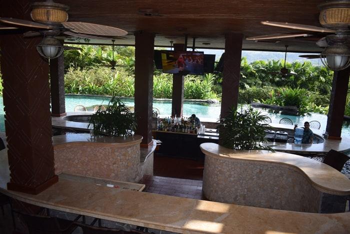 Pool bar at The Springs.