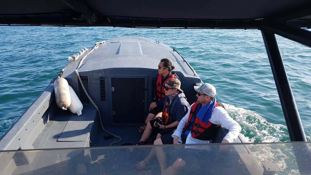 U.S. men rescued costa rica