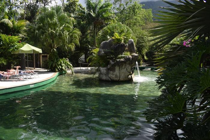 Pool at Paradise Hot Springs.