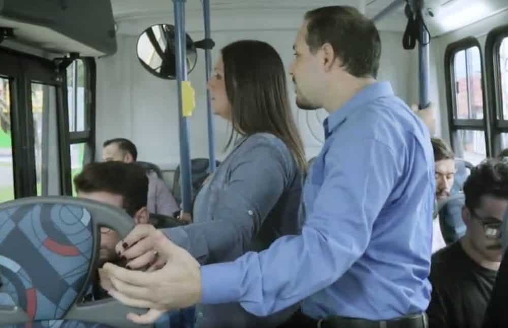 Are sex video on train has analogue?