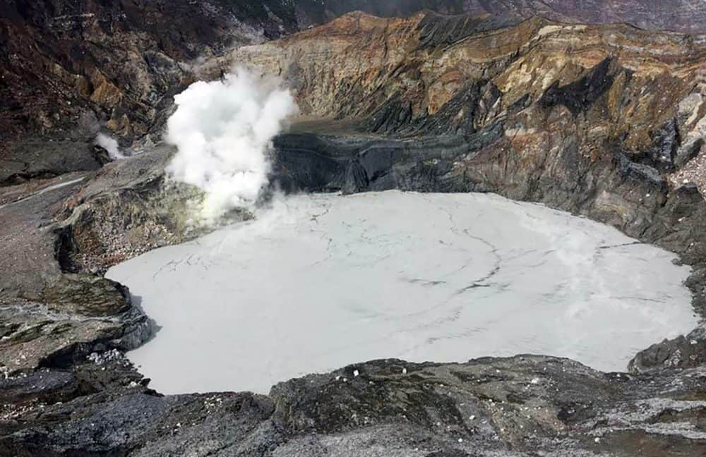 Poás Volcano. April 10, 2017.