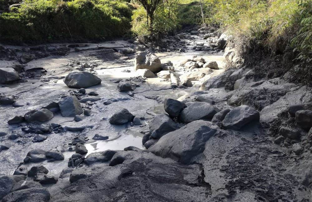Explosion at Poás Volcano. April 12, 2017