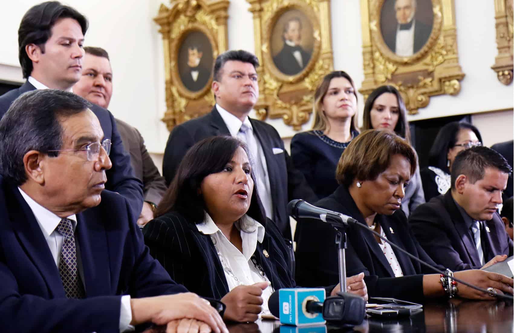 Venezuelan lawmaker Dinorah Figuera. Apr. 24, 2017.
