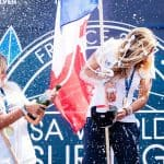 Leilani McGonagle wins bronze medal at World Surfing Games