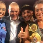 Hanna Gabriels retains her world titles in vibrant fight