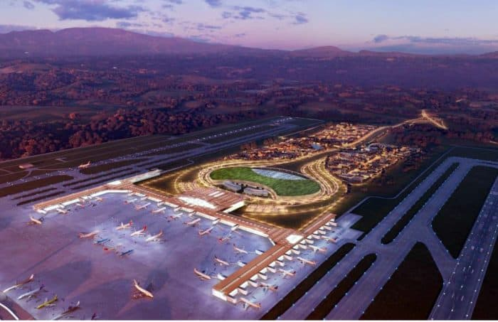 Costa Rica's new airport