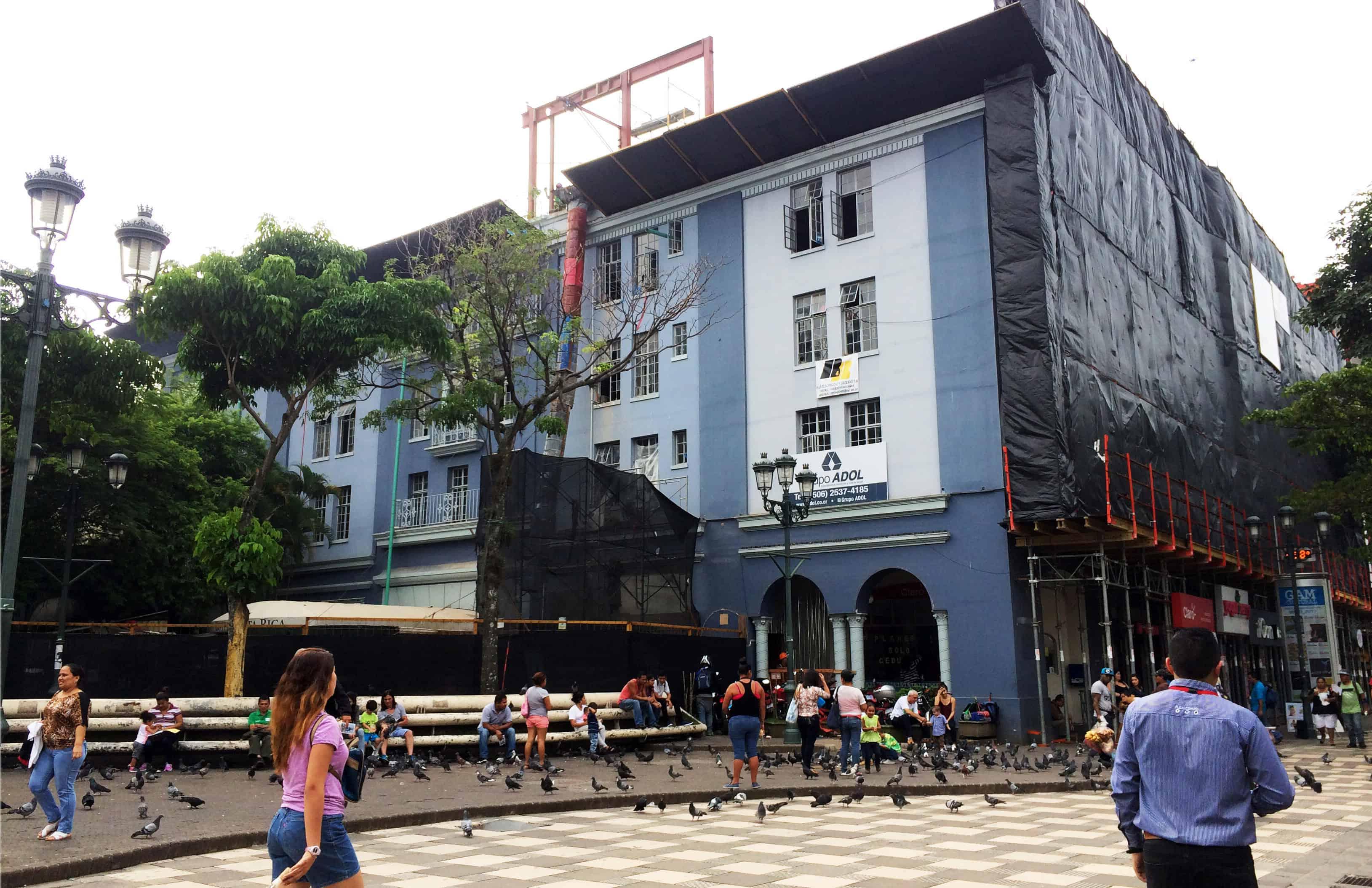 Renovation of Grand Hotel Costa Rica. June 7, 2017.