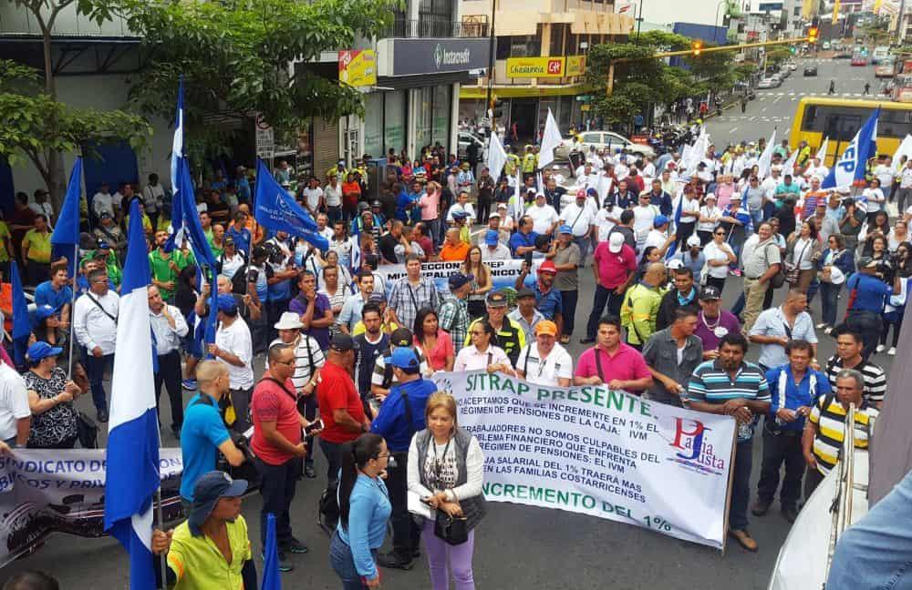 Public workers' strike. June 29, 2017.