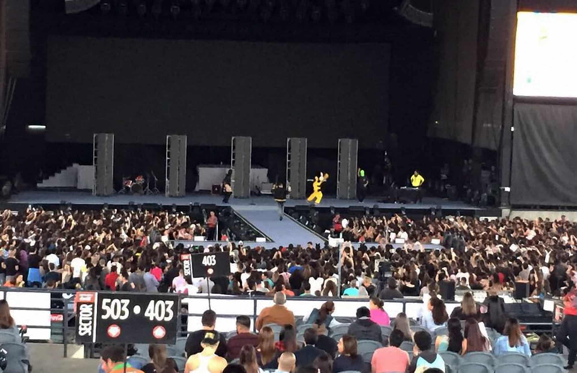 Ariana Grande concert in Costa Rica. July 9, 2017