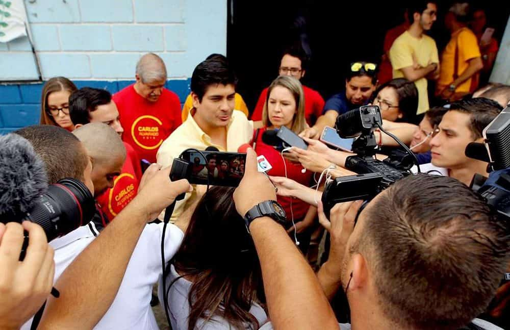 PAC Primary election winner Carlos Alvarado Quesada. July 09, 2017.