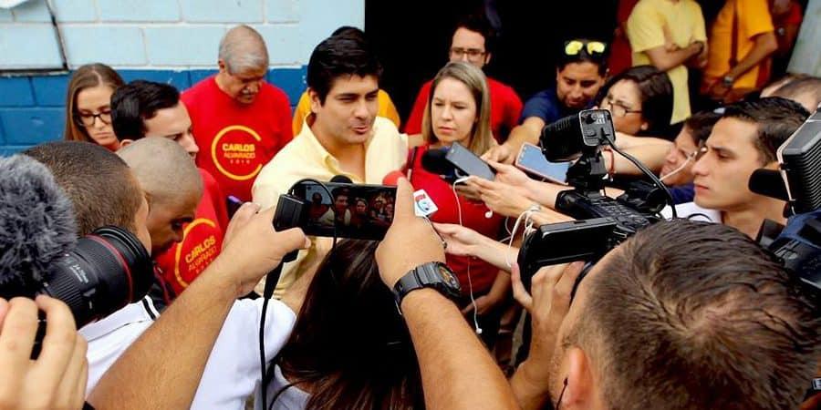 PAC Primary election winner Carlos Alvarado Quesada. July 09, 2017.
