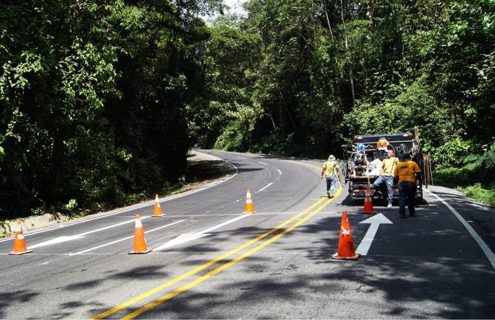 CONAVI roadway repairs.