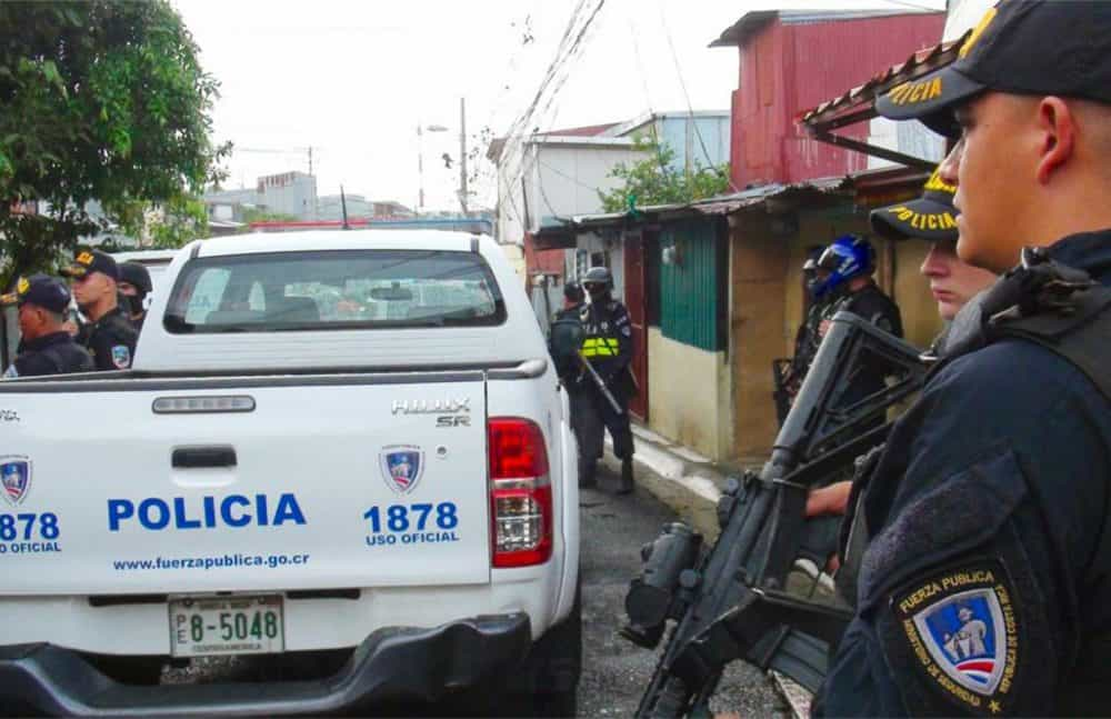 National Police, crimes in Limón