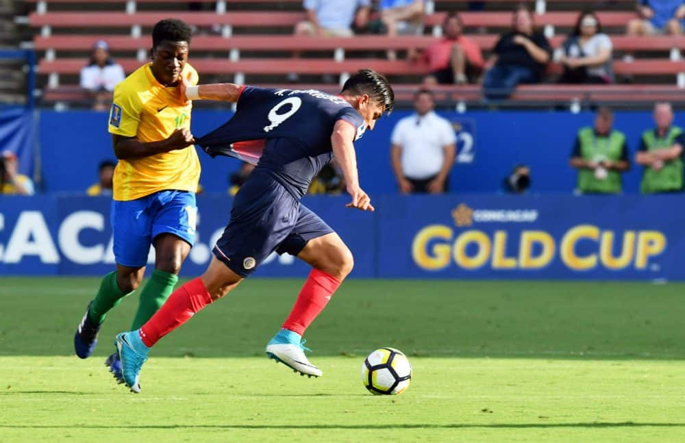Costa Rica vs French Guiana. July 14, 2017. La Sele