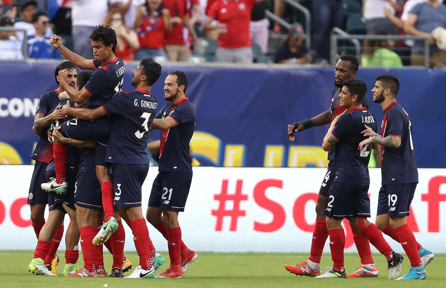 Costa Rica's La Sele defeats Panama. July 19, 2017.