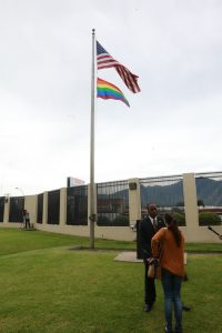 Ambassador Haney at US embassy in Costa Rica.