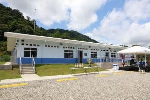 The Coast Guard in Golfito donated by the US Embassy