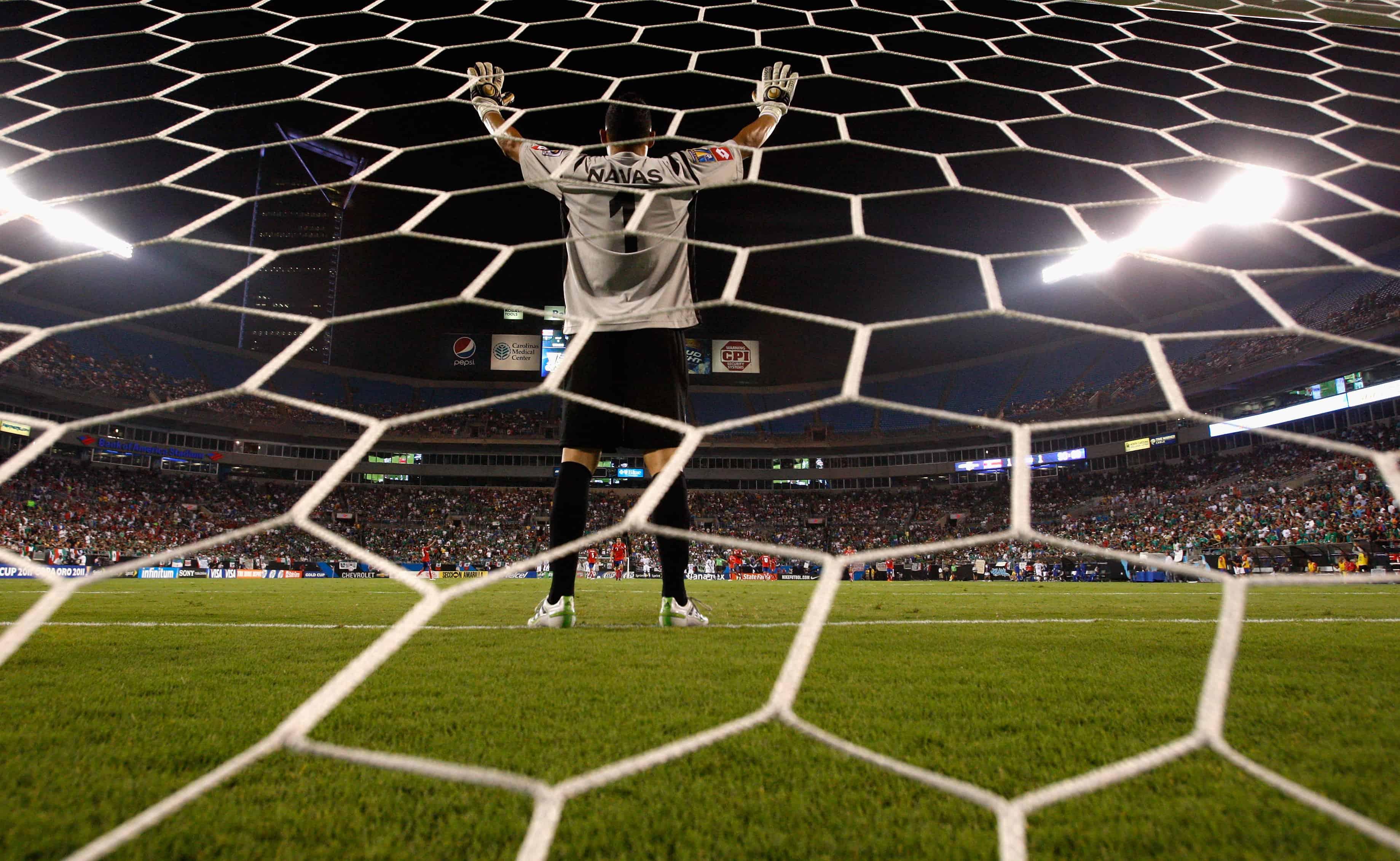 Costa Rican star goalie Keylor Navas