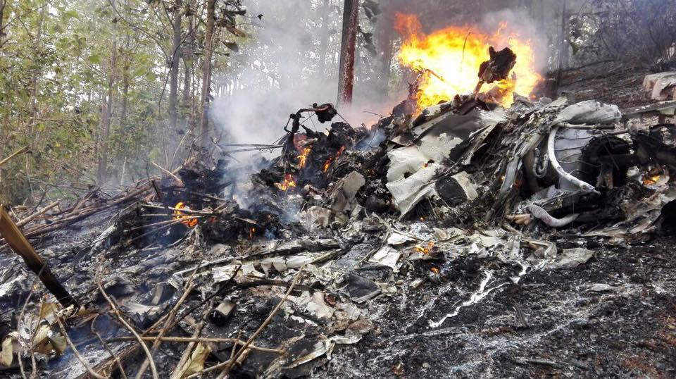 Plane crash in Nandayure, Guanacaste, Costa Rica