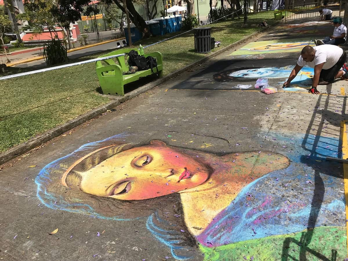 The art fest Transitarte 2018 filled east-central San José, Costa Rica with happy spectators on March 18.