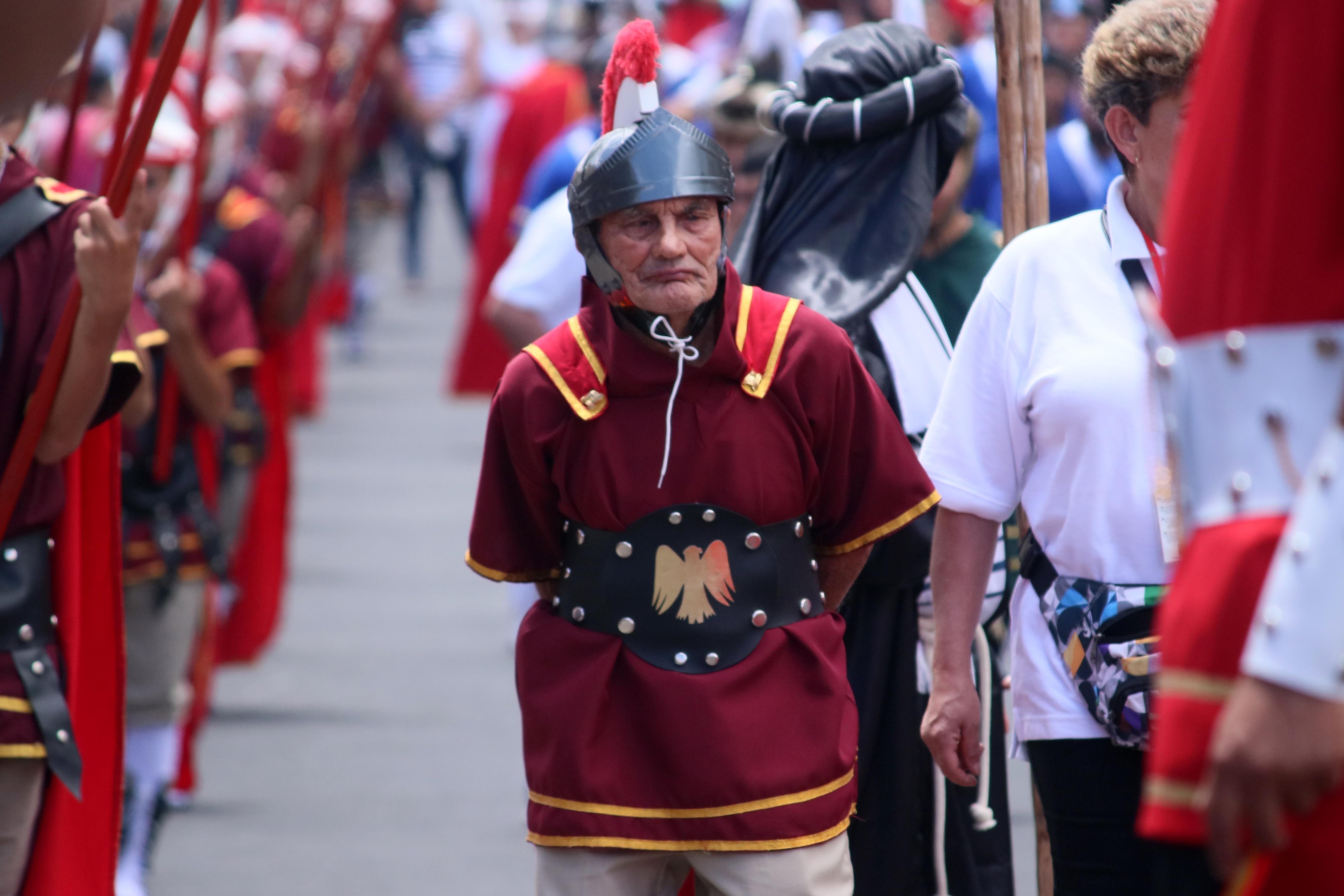Holy Week processions in La Unión de Cartago, Costa Rica.