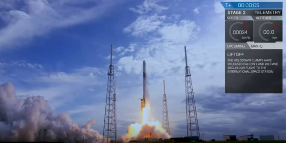 Costa Rica-made satellite takes off from Cape Canaveral