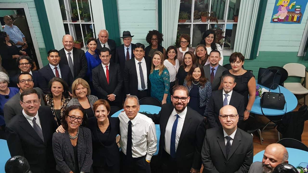 The new Cabinet of President-elect Carlos Alvarado in Costa Rica