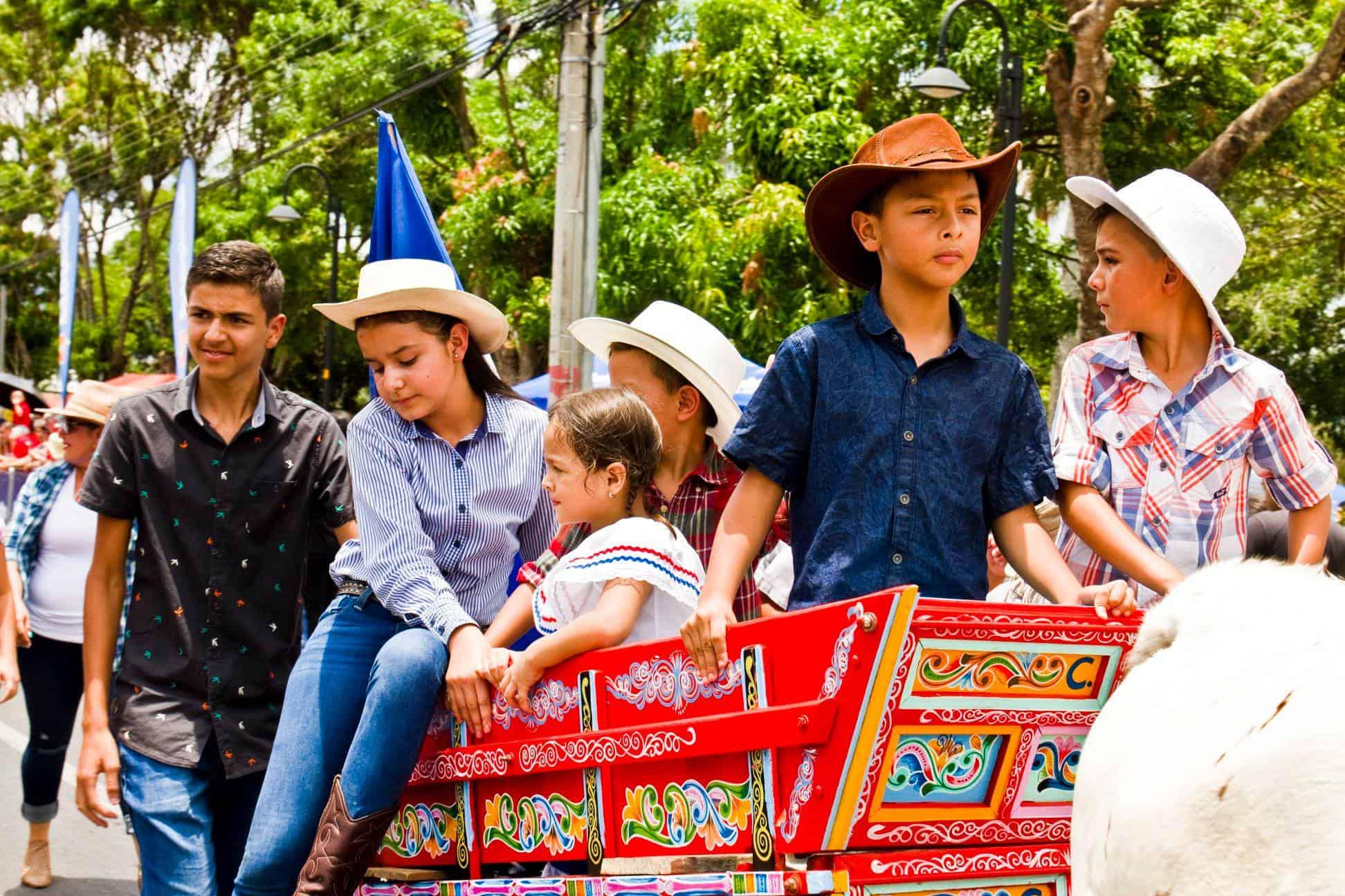 Oxcart Parade, Atenas, Costa Rica