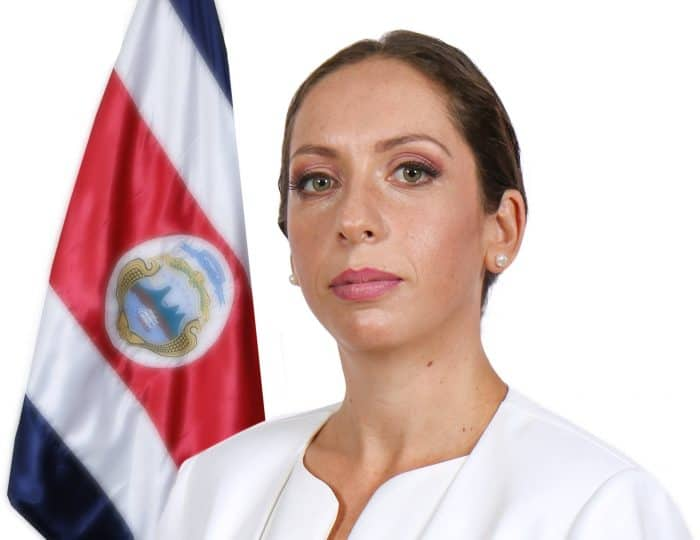 Costa Rican Legislative Assembly President Carolina Hidalgo