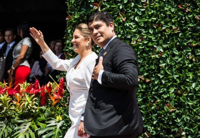 The inauguration of Costa Rica's 48th president, Carlos Alvarado, May 18, 2018