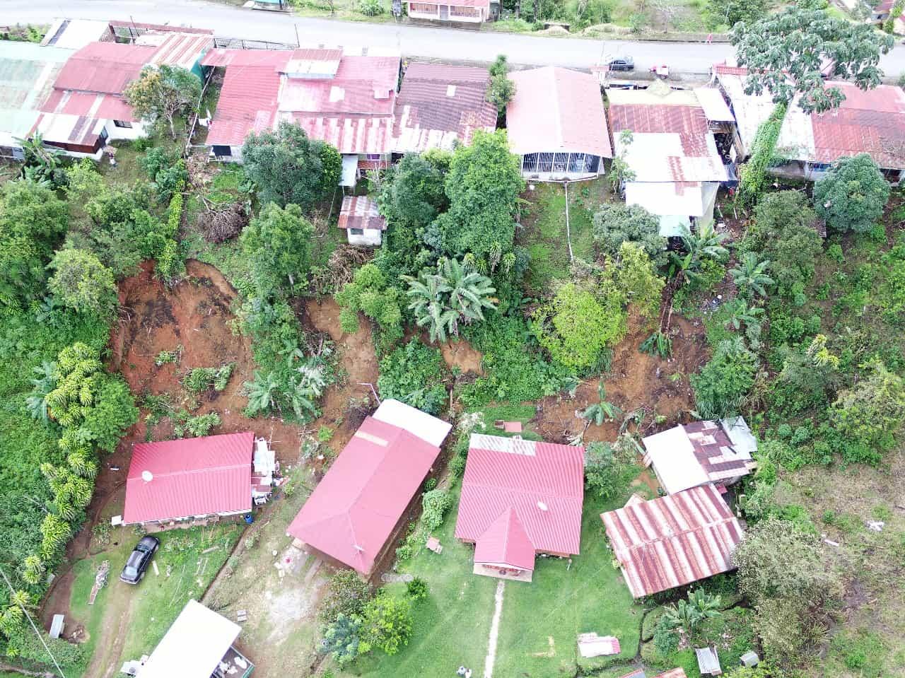 Landslides in Costa Rica in May 2018