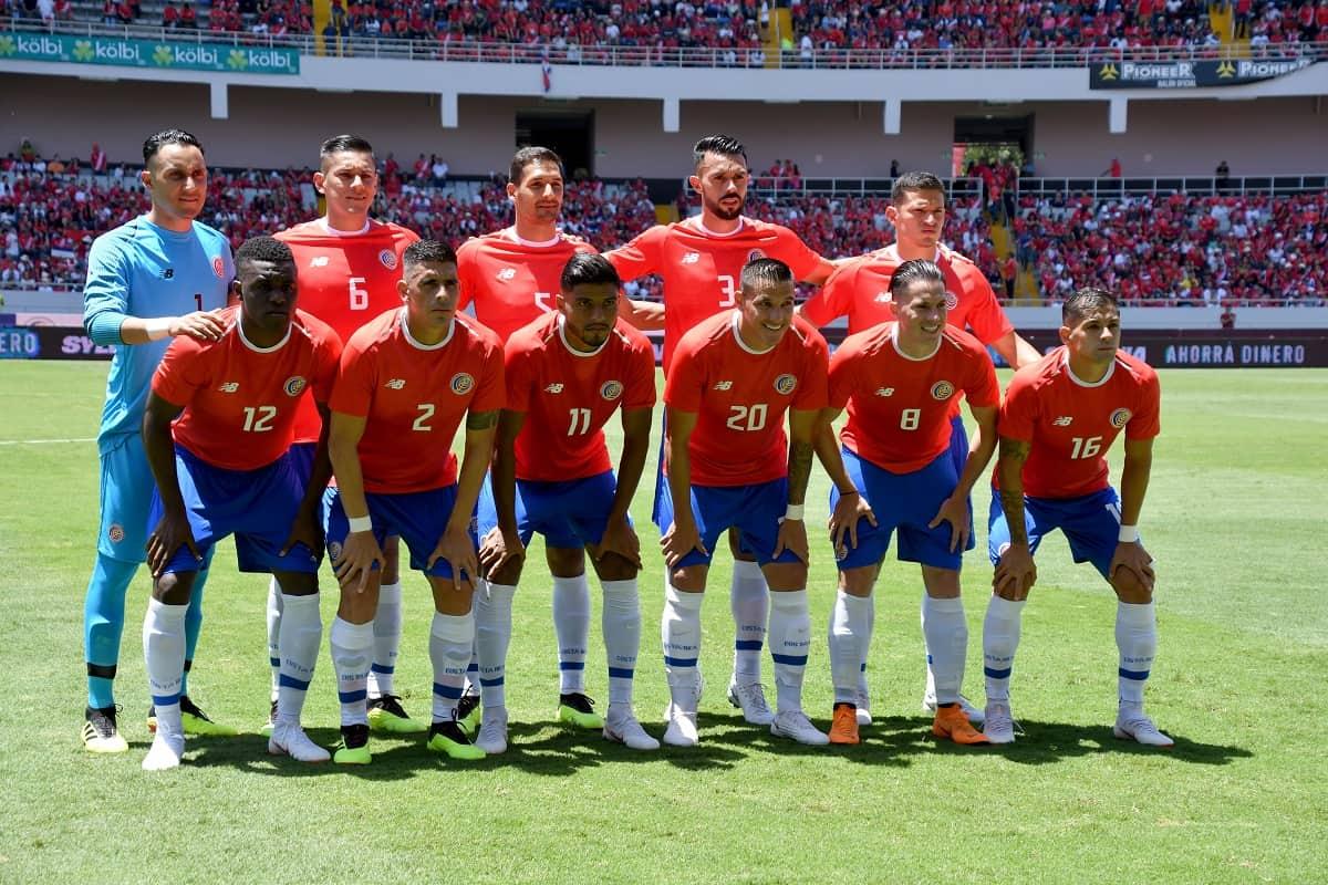 La Sele poses at the National Stadium in San José, Costa Rica