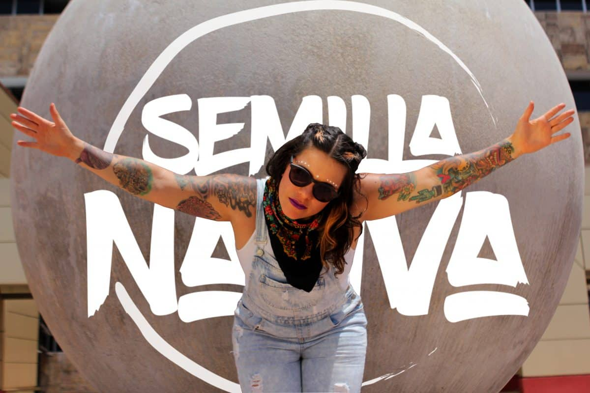 Costa Rican rapper Nativa.