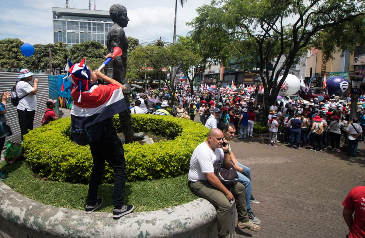 Costa Rican Government And Unions Willing To Start A Dialogue End The Strike
